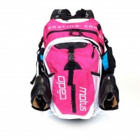 CadoMotus airflow skate backpack pink